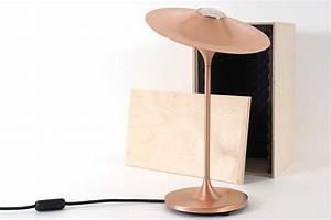 Tischleuchte Mit Schirm : elegante tischleuchte mit verstellbarem hut schirm casa lumi ~ Indierocktalk.com Haus und Dekorationen
