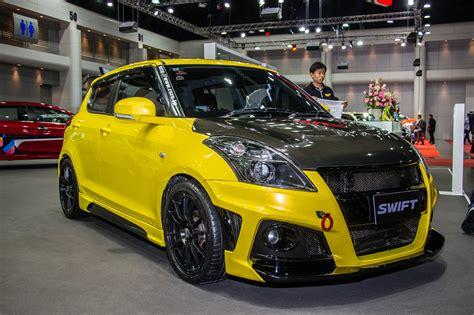 Custom Swifts Galore At Bangkok International Auto Salon 2017