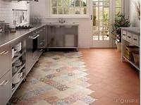 tile kitchen floor 21 Arabesque Tile Ideas for Floor, Wall and Backsplash