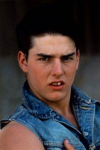 tom cruise back in the outsiders days | .teeth. tooth ...