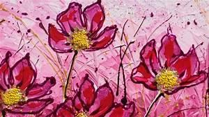 Campo di fiori in fucsia Vendita Quadri Online Quadri