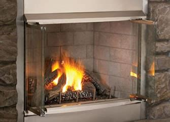 natural gas fireplaces    vented home