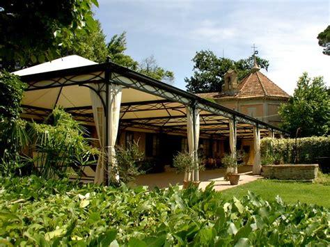 tettoia in ferro battuto tettoie in ferro battuto pergole e tettoie da giardino