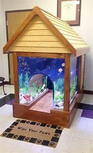 100 best images about unique fish tanks on pinterest With unique dog kennels