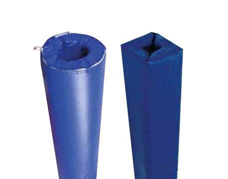 protection de poteaux sur mesure pour equipement sportif