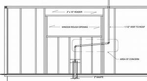 Bow Vent For Kitchen Sink Beneath Large Picture Window