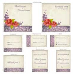 wedding templates wedding invitation templates with ornaments vector vector graphics