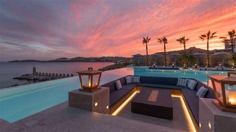 oasis pool lounger resort experience at santa marina resort mykonos 1151