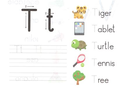 20 Lovely Preschool Worksheet Letter T Images  Wdscreativeus Wdscreativeus