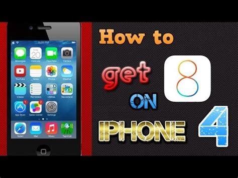 ios 8 iphone 4 updated how to get ios 8 for iphone 4 tutorial
