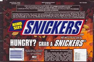 Image Gallery Snickers Slogan
