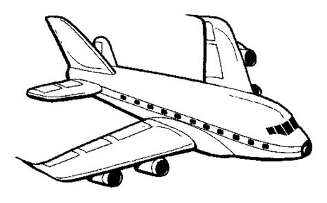 airplane coloring page bestofcoloringcom