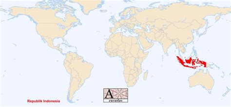 world atlas  sovereign states   world indonesia