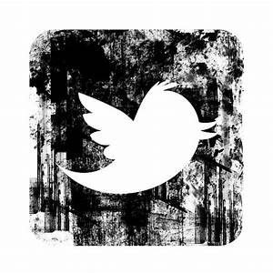 Grunge Twitter Icon – free icons