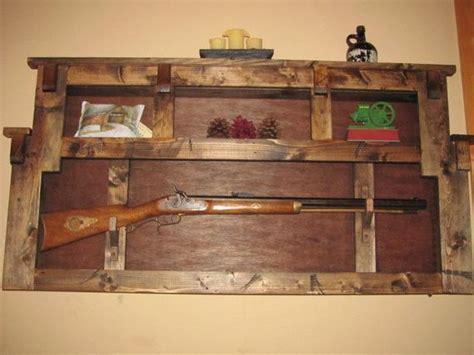 items similar  rustic gun rack plate display wall shelf  etsy