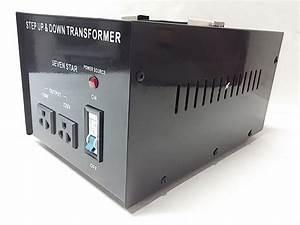 Seven Star Tc3000g Step Up Step Down Voltage Converter