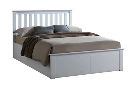 White Ottoman Bed Frame by White Ottoman Storage Bed Frame