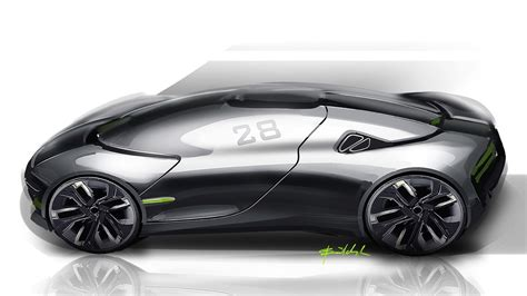 thx concept envisaged as future ev sports car performancedrive