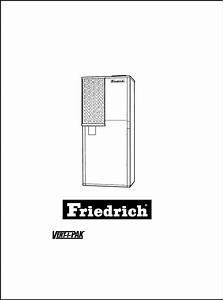 Download Friedrich Air Conditioner 000 Manual And User