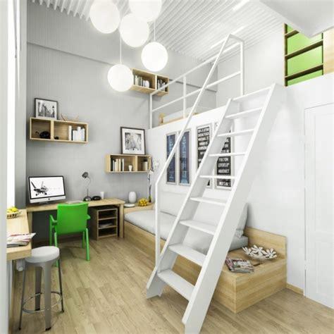chambre fille mezzanine chambre de fille ado de design contemporain 25 idées cool