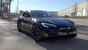 Tesla Model S 75d : 136107 2017 tesla model s 75d youtube ~ Medecine-chirurgie-esthetiques.com Avis de Voitures
