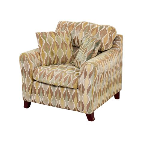 74 asymmetrical accent chair with pillows chairs