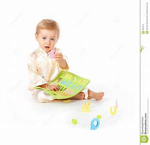 baby learning alphabet letters royalty free stock image With baby learning letters