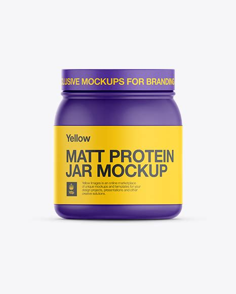 Use them for designing and as material when preparing packshots for your client. Download Psd Mockup Exclusive Mockup Fitness Jar Matte ...