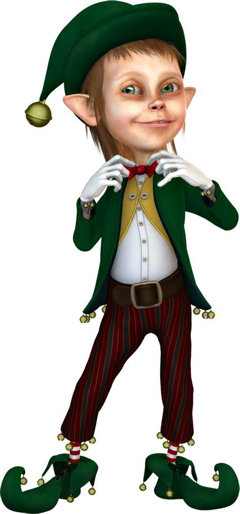 3d Elf Clipart