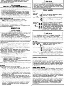Atwood Mobile Products Mpd 87903 Users Manual