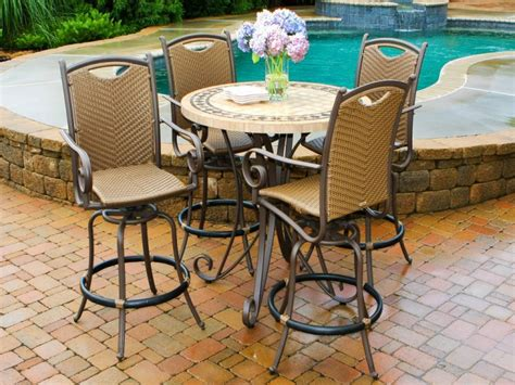 high top table chairs high top patio table and chairs marceladick com