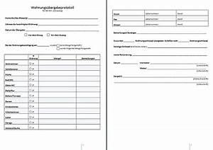 Checkliste Hauskauf Pdf : wohnungs bergabeprotokoll ~ Buech-reservation.com Haus und Dekorationen