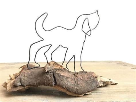 Für Türkranz by Hund Aus Draht Auf Sch 246 Nem Holz Holzwurm Draht Und Laufen