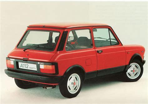 1971-1984 AUTOBIANCHI ABARTH A112 58-70HP | Berni Motori ...