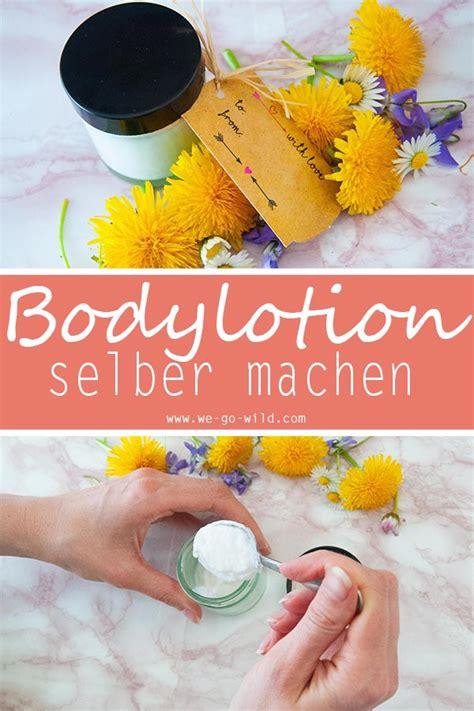 bodylotion selber machen bodylotion selber machen mit sheabutter und kokos 246 l f 252 r