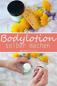Ringelblumen Creme Selber Machen : bodylotion selber machen mit sheabutter und kokos l f r trockene haut ~ Frokenaadalensverden.com Haus und Dekorationen