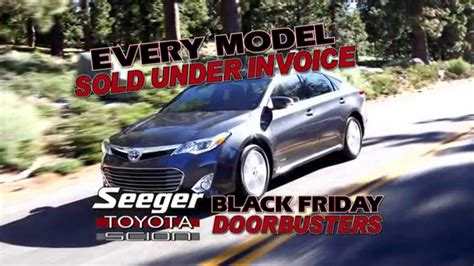 siege toyota seeger toyota black friday b november 2014