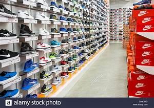 Uk Online Shop : nike footwear display in sports direct store england uk stock photo royalty free image ~ Orissabook.com Haus und Dekorationen