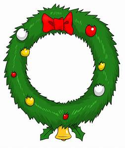 Wreath Clipart Christmas Garland Free Images - Clipartix
