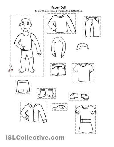 preschool winter clothes worksheets teaching