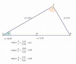 Sinus Cosinus Tangens Winkel Berechnen : dynamische geometrie ~ Themetempest.com Abrechnung