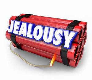 Jealousy Word Envy Resentment Time Bomb Explosive Anger ...