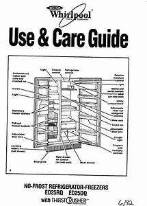 Whirlpool Ed25rq Users Manual