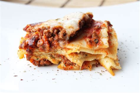 Lasagna With Cream Cheese And Sour Cream