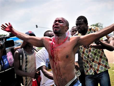violence mars dr congo elections sbs news