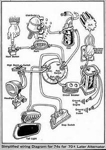 triumph british wiring diagram boyer dual coiljpg 673 With simple motorcycle wiring diagram for choppers and cafe racers together