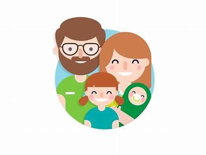 Dribbble Families Familia Sophia Anna Marketing Gezinsbond