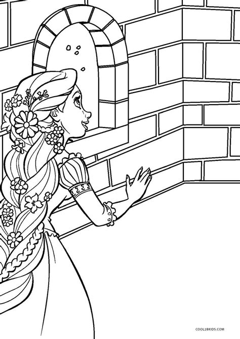 Coloring Pages by Free Printable Tangled Coloring Pages For Cool2bkids