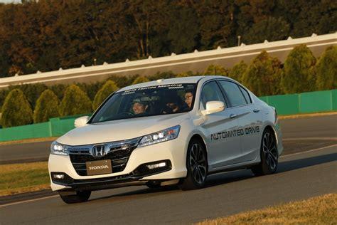 Honda Self Driving Car 2020 by Testing Honda S Tech For Its 2020 Self Driving Car Slashgear