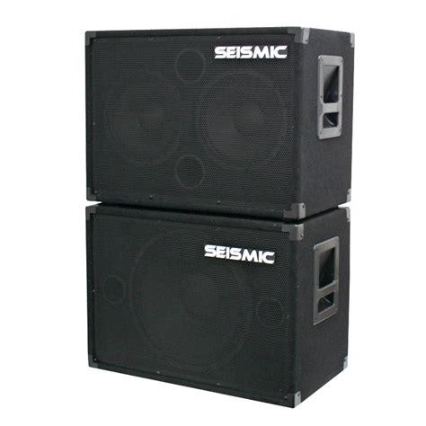 2x10 bass cabinet ebay seismic audio new 1x15 2x10 bass guitar speaker cabinet